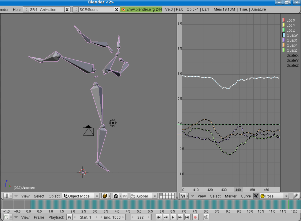 Around 600 mocap data sets freely available on mocapdata com